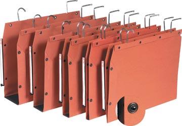 L'Oblique dossiers suspendus pour armoires TUB ft 330 x 250 mm, fond en V