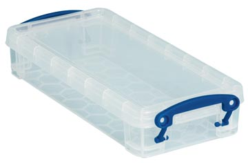Really Useful Box plumier 0,55 l, transparent
