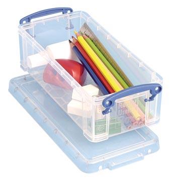Really Useful Box 0,9 l, transparent