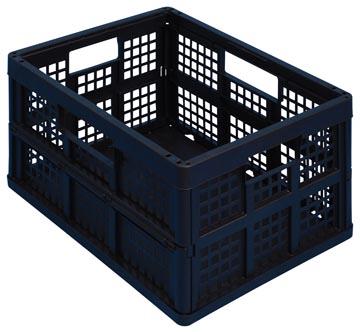 Really Useful Box bac pliante 45 litre, noir