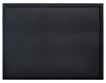 Securit ardoise Woody noir ft 60 x 80 cm