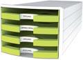 Han blac à tiroirs Impuls, tiroirs ouverts, Trend Colour Limon