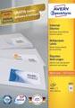 Avery Zweckform 3651, étiquettes universelles , Ultragrip, blanc, 100 feuilles, 52,5 x 29,7 mm