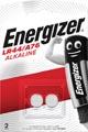 Energizer pile bouton, LR44/A76, blister 2 pièces
