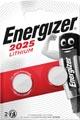 Energizer pile bouton, CR2025, blister 2 pièces